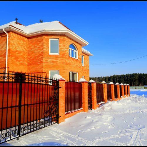 Коттедж на улице Рябиновая