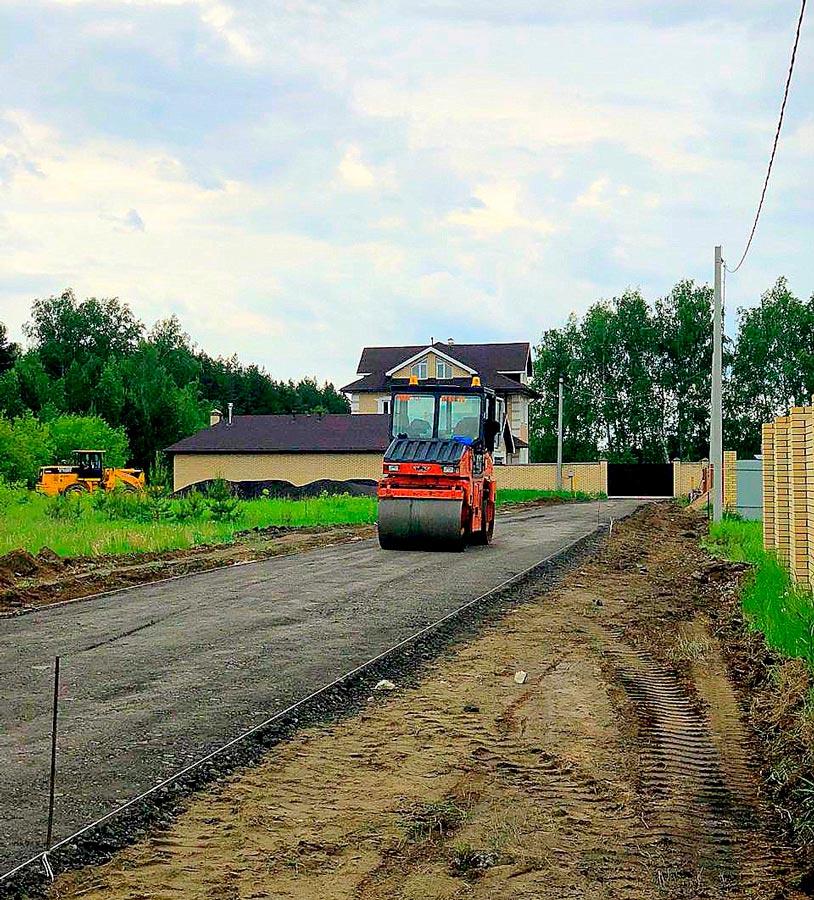 Работы в поселке