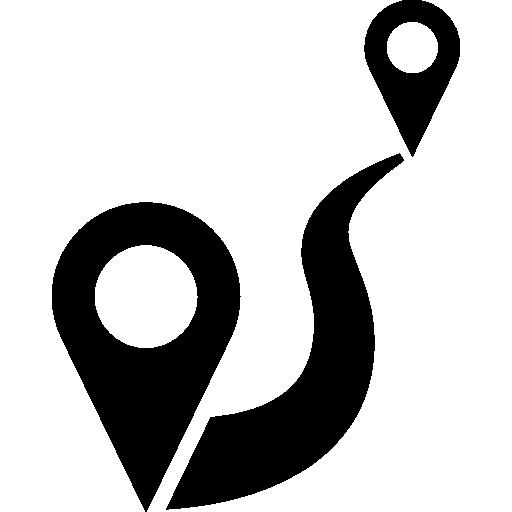 Иконка означающая близость коттеджного поселка к центру города Омска